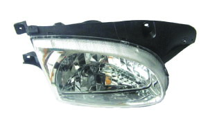 ACCENT '98 HEAD LAMP (CRYSTAL)