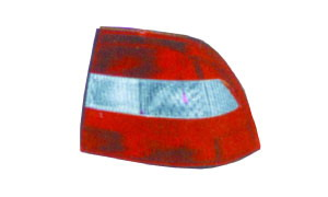 VECTRA '96-'98  TAIL LAMP WHITE/RED