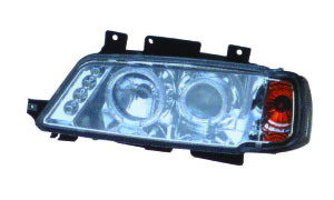 405 '87-'96 HEAD LAMP WITH CORNER LAMP(WHITE LED)