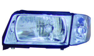 AUDI 100 '83-'90 HEAD AND CORNER LAMP(CRYSTAL)