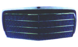 MERCEDES-BENZ 190E/W201 '82-'93 GRILLE(5 RUBBERS)