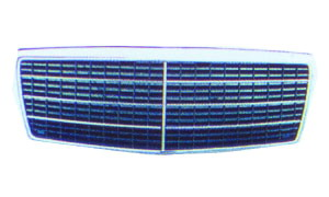 W140 FRONT  GRILLE(7 RUBBERS)