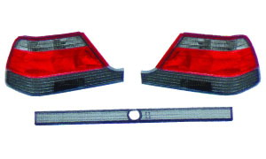 W140 '92-'94 CRYSTAL TAIL LAMP(GREY)
