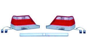 W140 '92-'94 LED CRYSTAL TAIL LAMP(GREY)