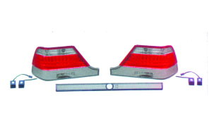 W140 '92-'94 LED CRYSTAL TAIL LAMP