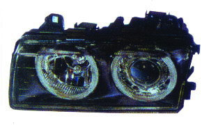 BMW E36 '91-'00 HEAD LAMP(CRYSTAL BLACK)