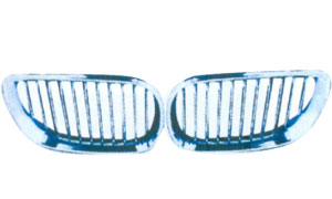 BMW E60'03  FRONT GRILLE(CHROMED)
