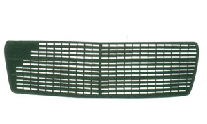MERCEDES-BENZ W210 '95-'98 FRONT GRILLE (5 RUBBERS,INSIDE)