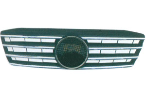 W203 '00-'03 FRONT GRILLE(SPORT TYPE,BLACK)