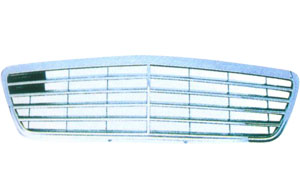 MERCEDES-BENZ W210 '95-'98 FRONT GRILLE (9RUBBERS)
