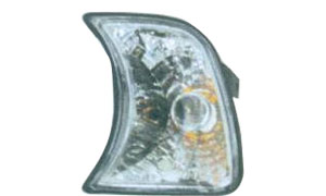 BMW E34 CORNER LAMP(CRYSTAL WITH SHADE)WHITE