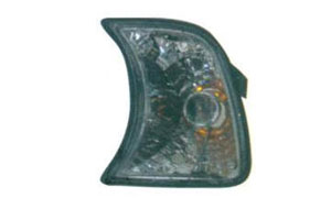 BMW E34 CORNER LAMP(CRYSTAL WITH SHADE)GREY