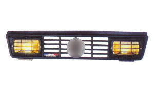 505 '79-'92 FRONT GRILLE WITH FOG LAMP