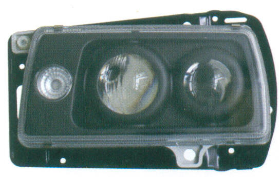 VW JETTA II '85  CRYSTAL PROJECTOR HEAD LAMP