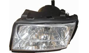 AUDI 100 '90-'94 HEAD  LAMP(CRYSTAL)