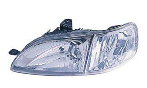 CITY '99 HEAD LAMP