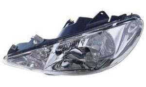 PEUGEOT 206 '03-'07  HEAD LAMP SINGLE