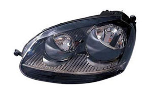 VW GOLF V GTI '03-'07 HEAD LAMP(BLACK)
