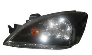 LANCER '03-'04 HEAD LAMP (BLACK)