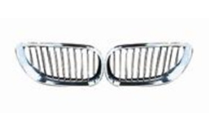 BMW E60'03 GRILLE (ALL CHROME)