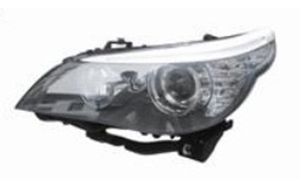 BMW E60 '08HEAD LAMP ) (WHITE NEW