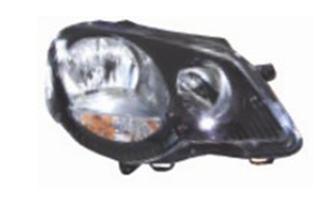 VW POLO V'05- HEAD LAMP(black)