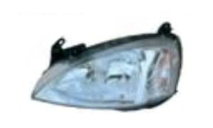 OPEL CORSA 10/00'-'02 HEAD LAMP(WHITE)