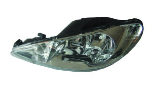 206 '98-'05  HEAD LAMP(CRYSTAL WHITE)